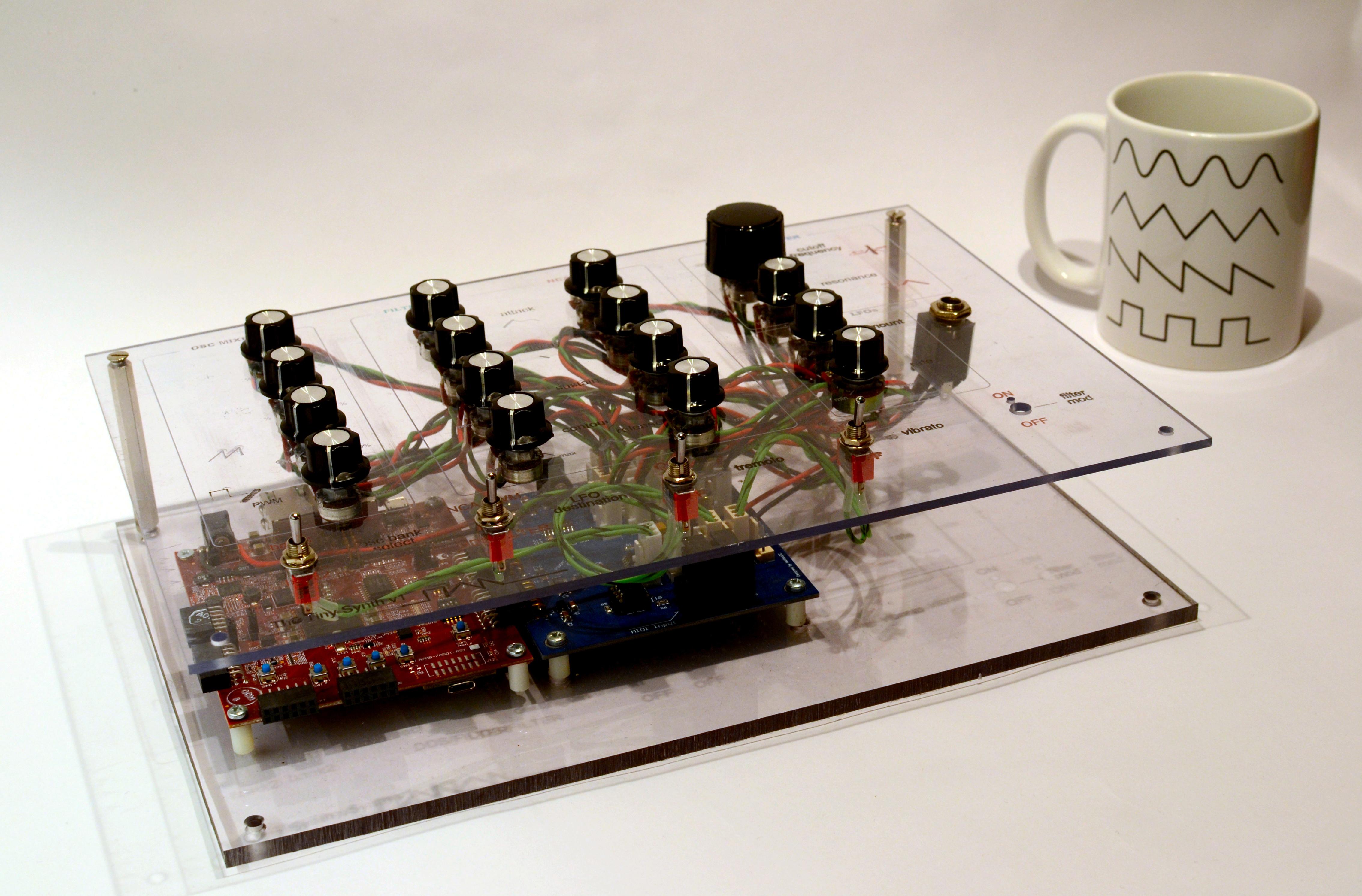 Synthworks: il sintetizzatore arrivato dal Cern