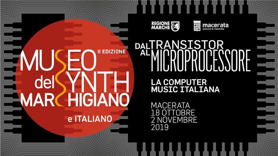 Ritorna il Museo del Synth Marchigiano e Italiano alla sua seconda edizione: incontri, concerti e decine di strumenti vintage e moderni da vedere e suonare.