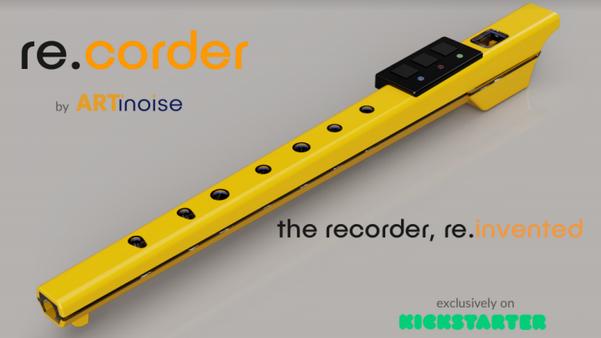 Artinoise re.corder: il flauto dolce reinventato in chiave moderna